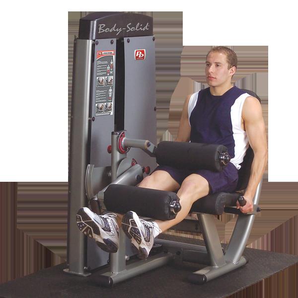 DLEC-SF - Pro Dual Leg Extension & Curl Machine - Body ...
