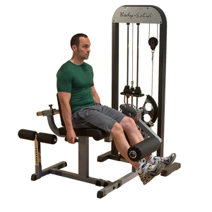 GCEC-STK - Selectorized Leg Ext. & Leg Curl Machine
