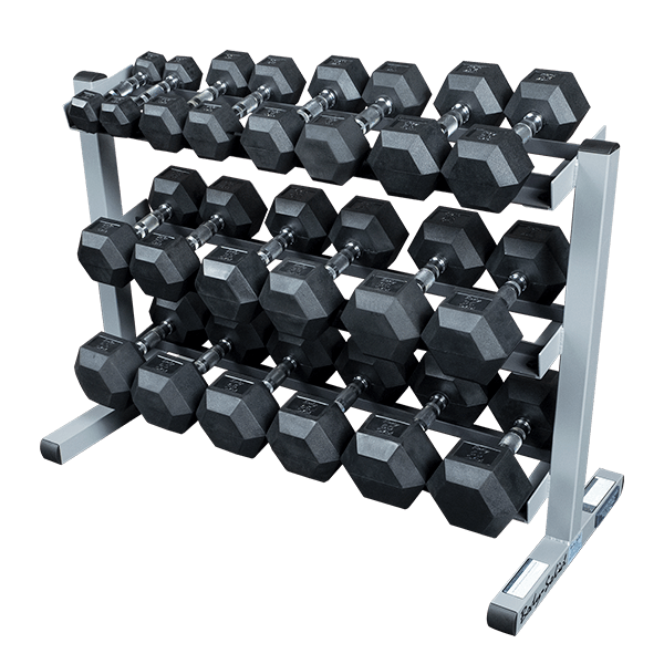 Gdr363 3 Tier Dumbbell Rack Body Solid Fitness