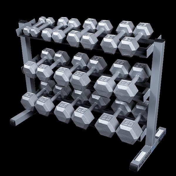 Gdr363 3 Tier Dumbbell Rack Body Solid Fitness