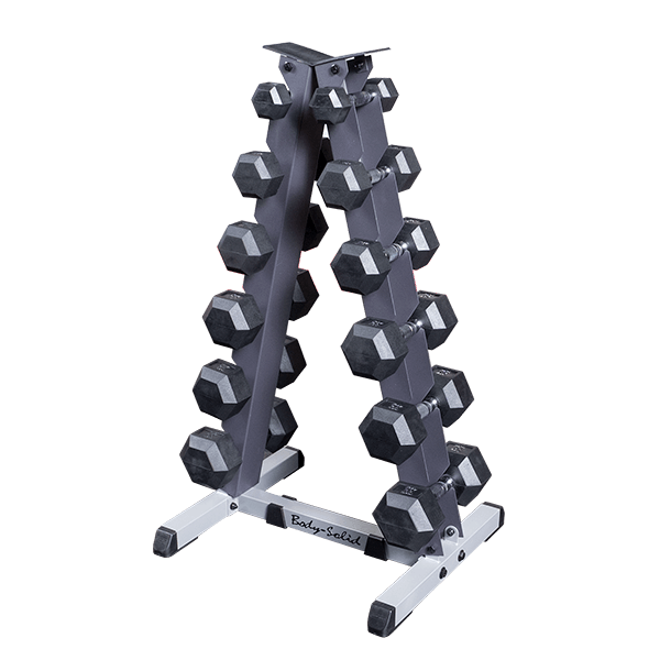Gdr44 Vertical Dumbbell Rack Body Solid Fitness