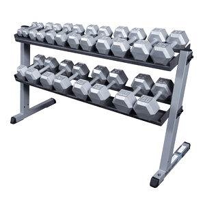 w/ optional 5-50 Hex Dumbells