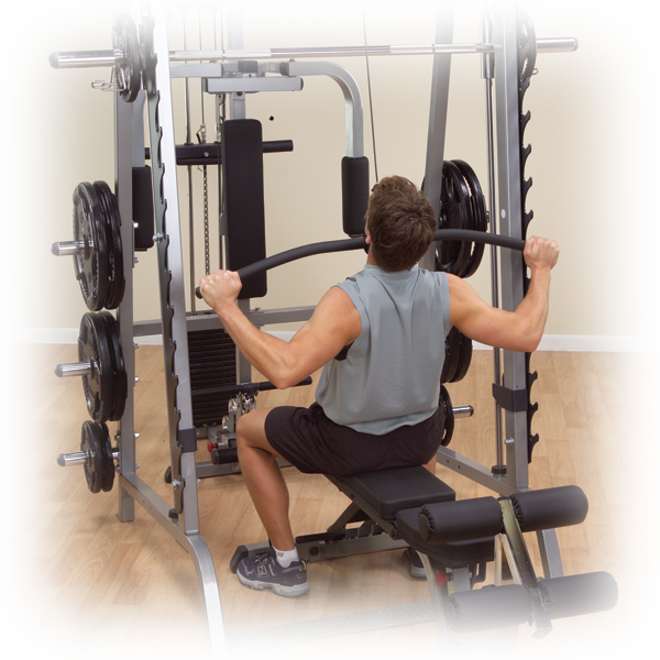 GLA348QS - Lat Attachment for Series 7 Smith Machine