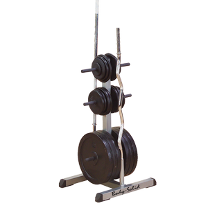 GSWT Body-Solid Standard Plate Tree & Bar Holder