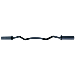 OB47B Olympic Curl Bar- Black