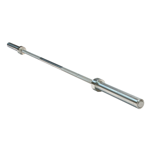OB86PBS - 7 ft. Olympic Power Bar (silver)