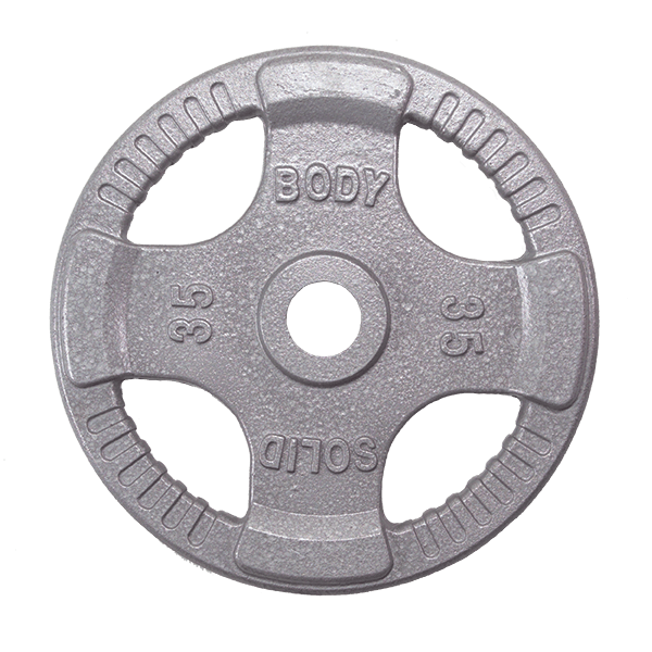 Opt Steel Grip Olympic Plates Body Solid New