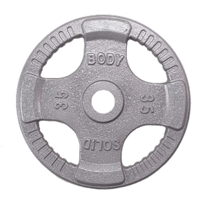 OPT35 Steel Grip Olympic Plates