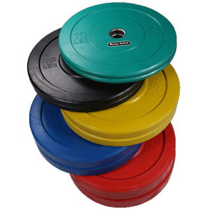 ORCOL260 260lb. Colored Bumper Plate Set