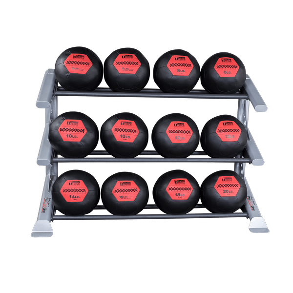 Sdkrmbr Pro Clubline Medicine Ball Racks Body Solid