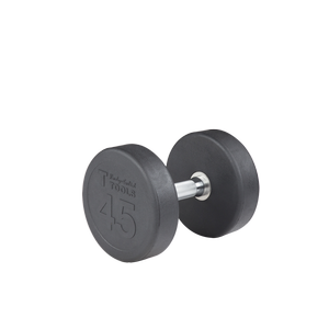 SDP45 - 45 lb. Rubber Pro-Style Dumbbell
