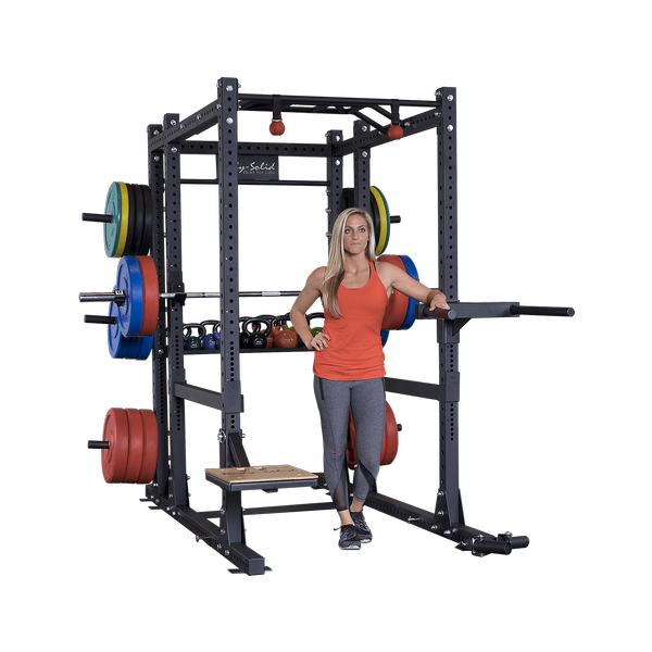 Spr1000backp4 Commercial Extended Power Rack Package