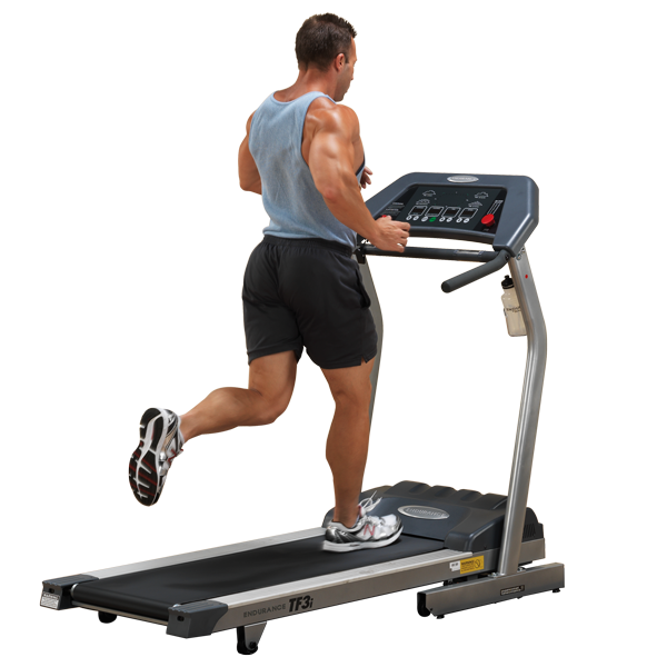 Tf i endurance folding treadmill body solid fitness