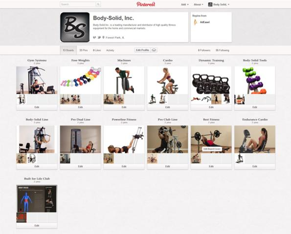 Pin It with Body-Solid on Pinterest