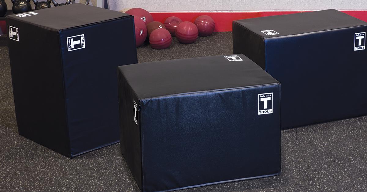 Body-Solid Soft Plyo Box