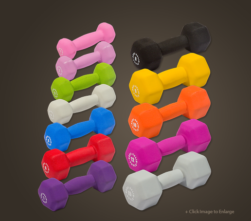 BSTND - Body-Solid Neoprene Dumbbells