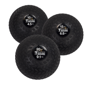 BSTTT - Body-Solid Tire-Tread Slam Balls