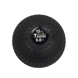 BSTTT15 - Body-Solid 15 lb.Tire-Tread Slam Ball