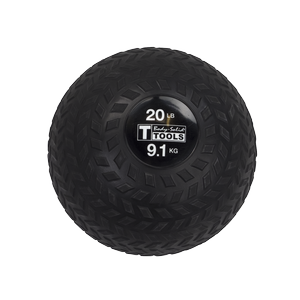 BSTTT20 - Body-Solid 20lb. Tire-Tread Slam Ball