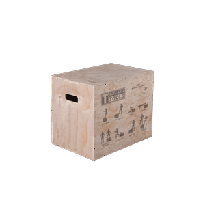 BSTWPBOX - Body-Solid Tools 3-in-1 Wooden Plyo Box