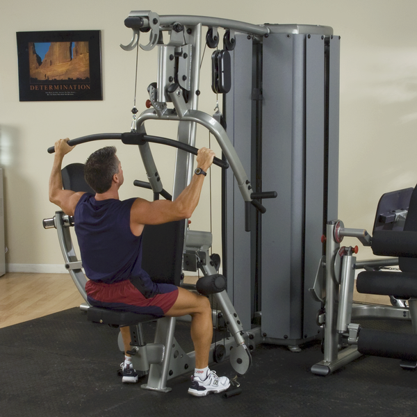 Dgym Pro Dual Modular Gym System Body Solid Fitness