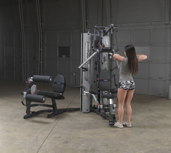 Exm3000lps Gym System: Body-Solid G10B Bi-Angular Gym