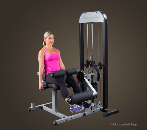 GCEC-STK - PRO-Select Leg Ext. & Leg Curl Machine