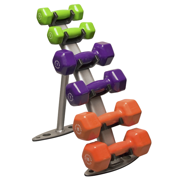 GDR10-Pack - 3-Pair Vinyl Dumbbell Package