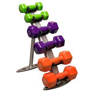 GDR10 Vinyl Dumbbell Rack