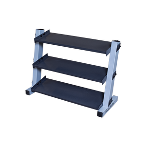GDR34 - 3-Tier Vinyl / Neoprene Dumbbell Rack