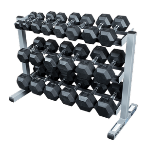 w/ optional Rubber Dumbells