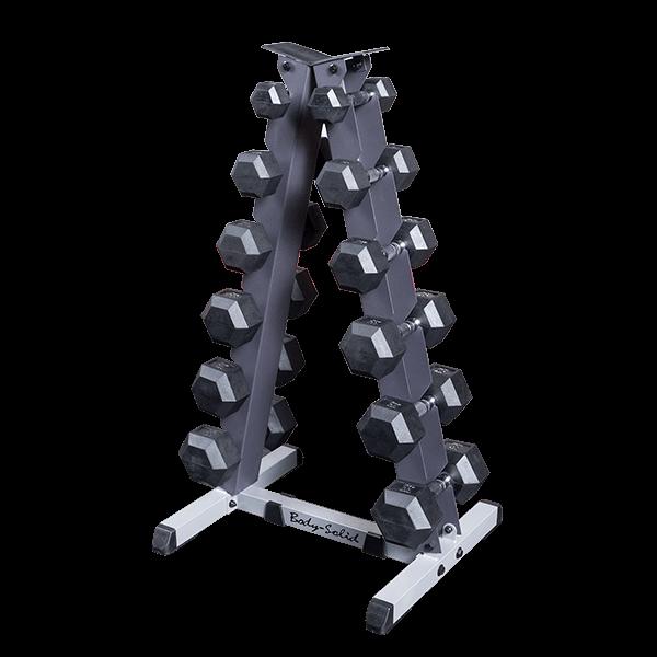 Gdr44 Vertical Dumbbell Rack Body Solid Fitness