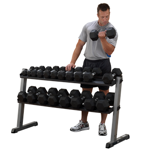 GDR60 - Body-Solid Pro Dumbbell Rack