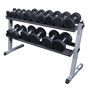 w/ optional 5-50 Round Rubber Dumbells