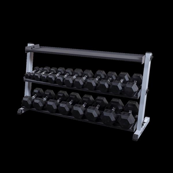 Body-Solid Rudergriff und Ruderplattform f/ür vorgebeugtes Rudern T-Bar-Rudern