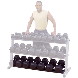 GDRT6 Body-Solid Pro Dumbbell Rack