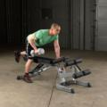 GFID71 - Body-Solid Heavy Duty Flat Incline Decline Bench