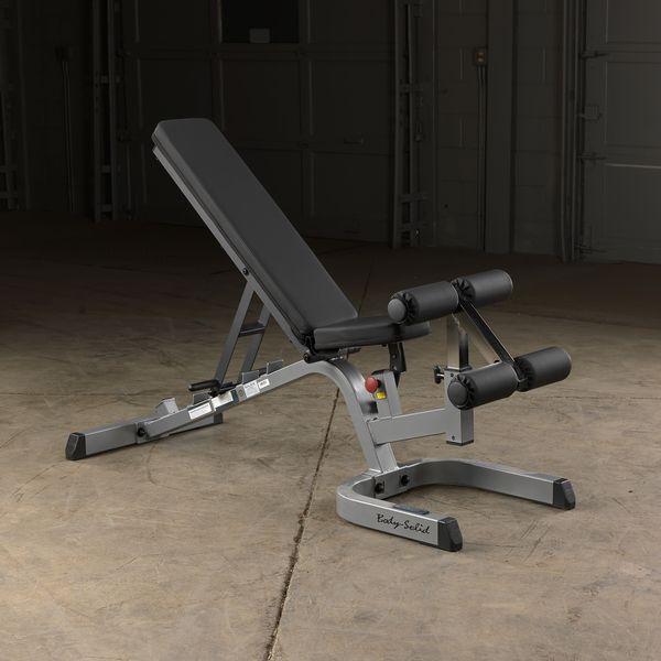 Gfid71 Body Solid Heavy Duty Flat Incline Decline Bench