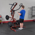 GLGS100P4 - Body-Solid Corner Leverage Gym Package