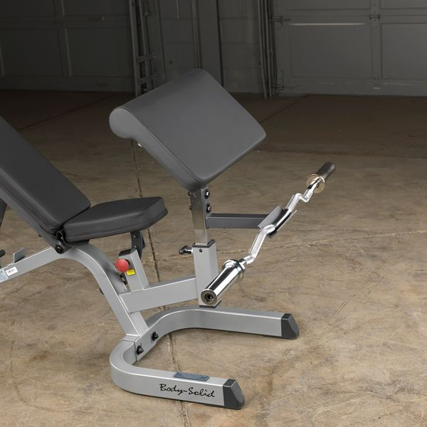 Gpca1 Preacher Curl Station Body Solid Fitness