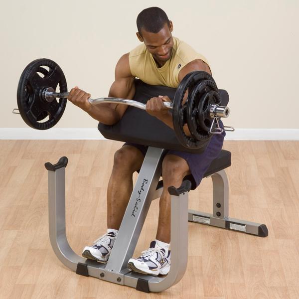 GPCB329 - Body-Solid Preacher Curl Bench - Body-Solid Fitness  Preacher