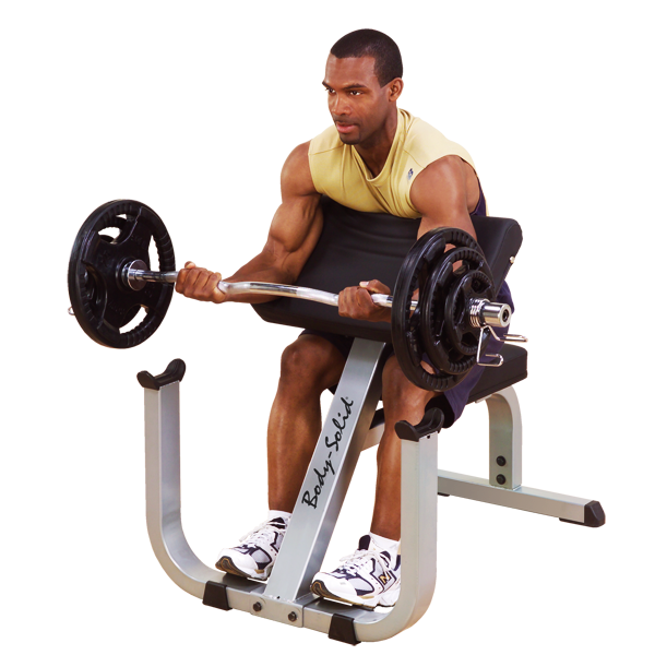Hoist Preacher Bench: Body-Solid Preacher Curl Bench