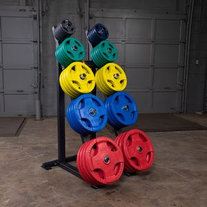 - weight plates not included