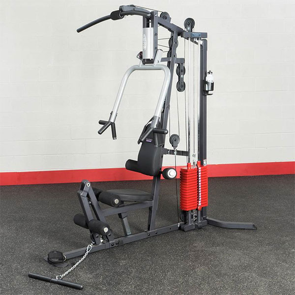 Hp200 Premium Red 200 Lb Weight Stack Body Solid Fitness