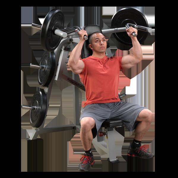 Lvsp Leverage Shoulder Press Body Solid Fitness
