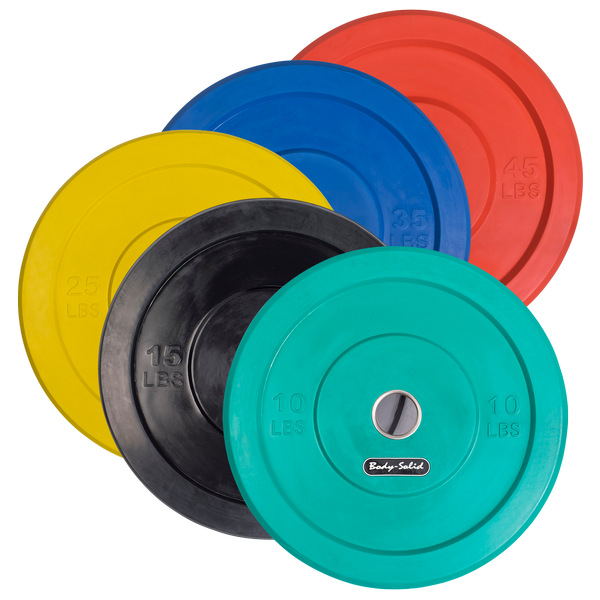 OBP - DISCONTINUED - Olympic Rubber Bumper Plates
