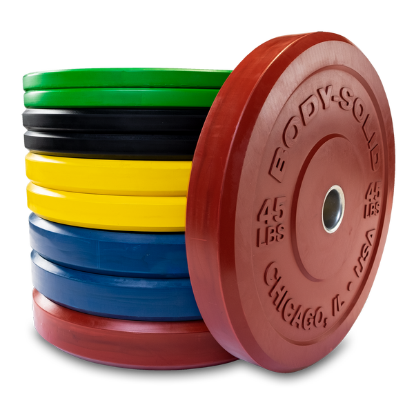 OBPXC - Chicago Extreme Color Bumper Plates