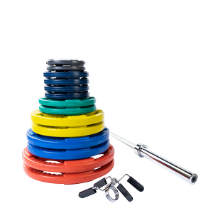 ORC300S Color Rubber Grip Olympic Sets