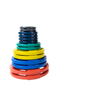 ORCT255 Color Rubber Grip Olympic Sets