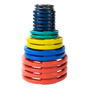 ORCT355 Color Rubber Grip Olympic Sets